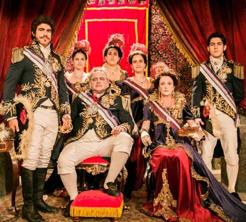 Familia Real em Novo Mundo