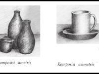 Pengertian, Komposisi, dan Proses Menggambar