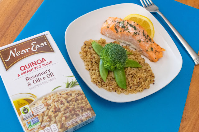 How to Make a Salmon Under the Sea Dinner Recipe With Your Kids!