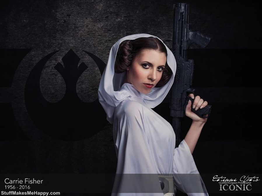 23. Carrie Fisher