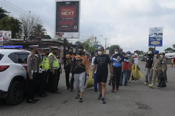 Umar Ahmad Trun Kejalan Serbu Sampah Dalam Rangka HPSN