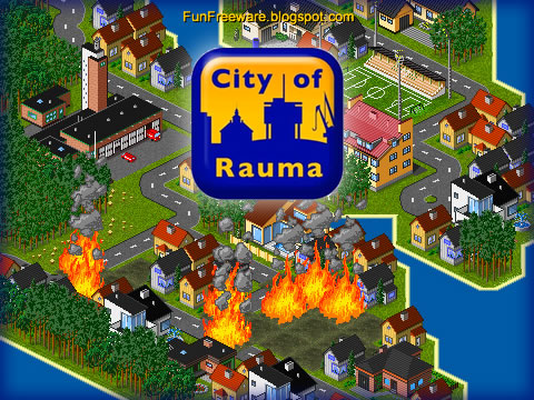 Free City Building Game - City of Rauma Splash Screen