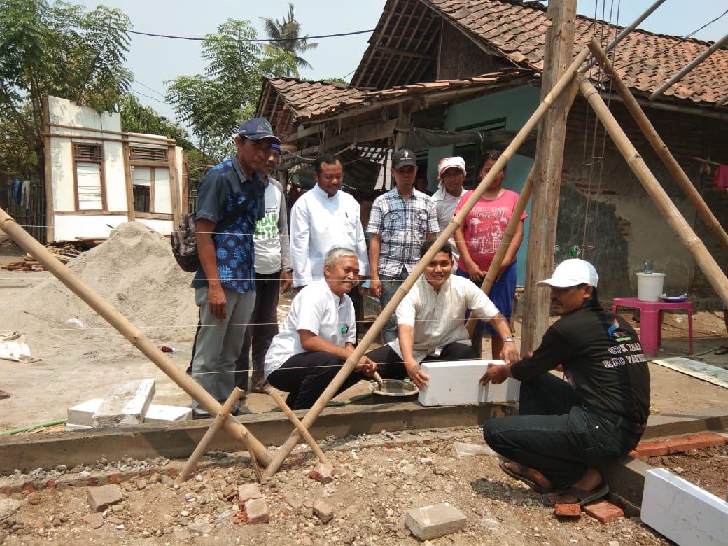 Peletakan Batu Pertama Tanda Dimulai Gebrak Pakumis 2019 Di Kampung Rawa Kopi Desa Gaga