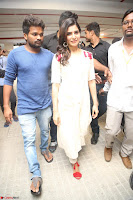 Samantha Ruth Prabhu Smiling Beauty in White Dress Launches VCare Clinic 15 June 2017 088.JPG