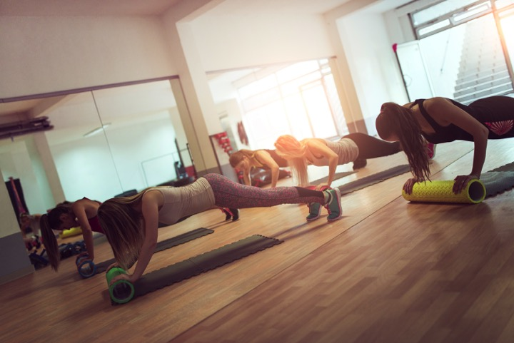 Harbour Club Group Fitness Class
