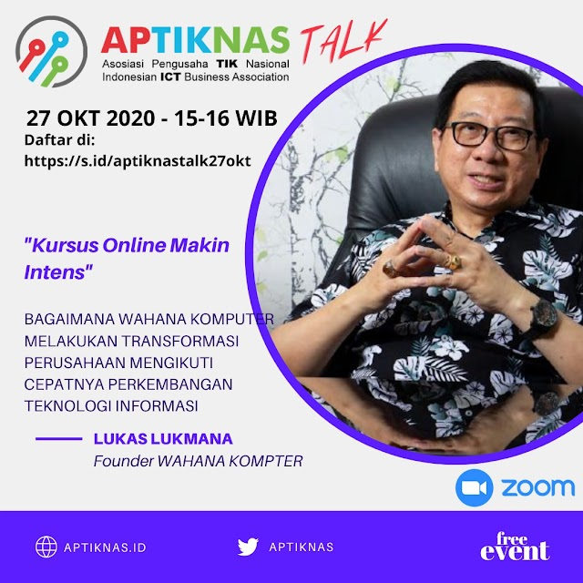 Program APTIKNAS TALK 27 OKT 2020