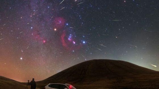 Звездопады в октябре — Тауриды и Ориониды