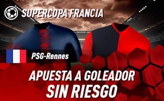 sportium promocion super copa francia PSG vs Rennes 3 agosto 2019