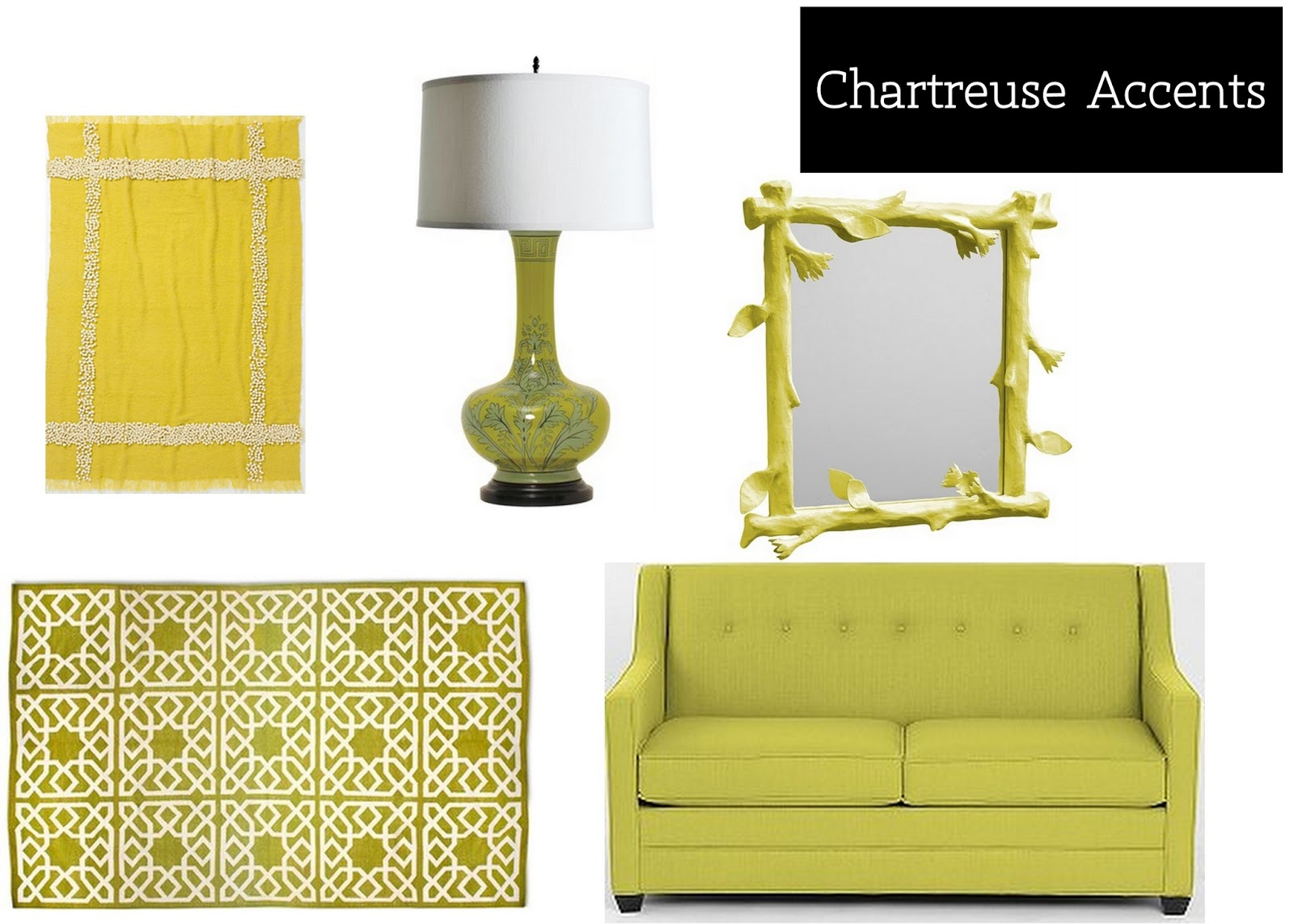 Sadie Stella Monday Musings Chartreuse Accents