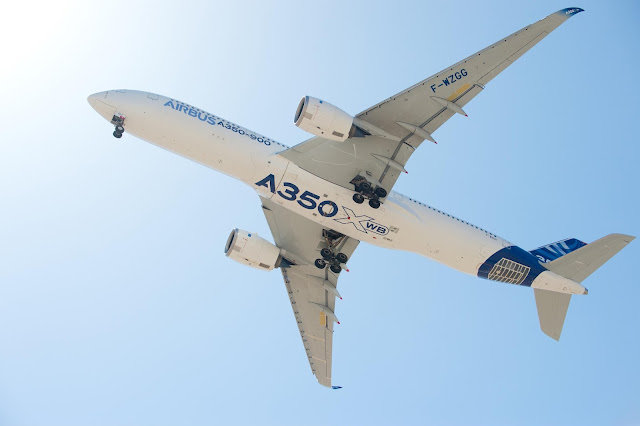 Airbus A350-900 XWB Bottom View
