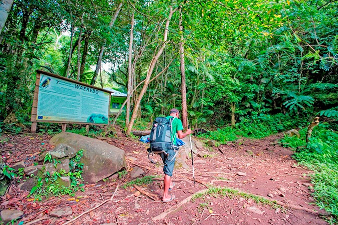 Dlium.com Wae Rebo, trekking to the Mbaru Niang houses