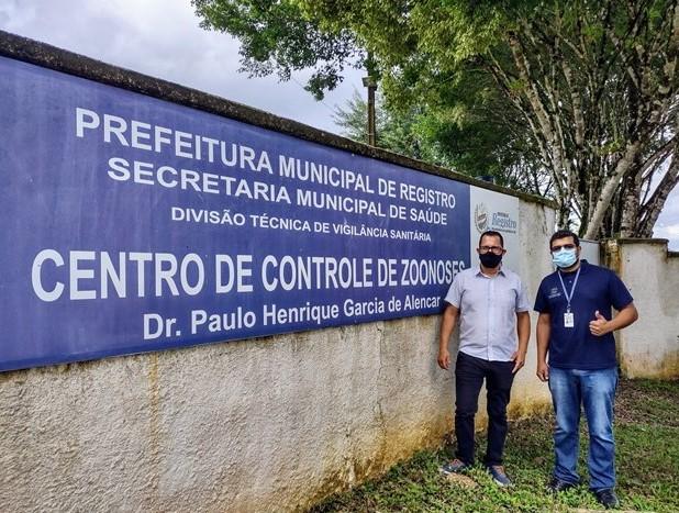Vander Lopes solicita melhorias para o Centro de Controle de Zoonoses