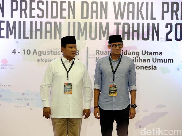 Tatap Debat, BPN: Prabowo-Sandi Sudah Ganteng dan Cerdas, Tak Perlu Dipoles