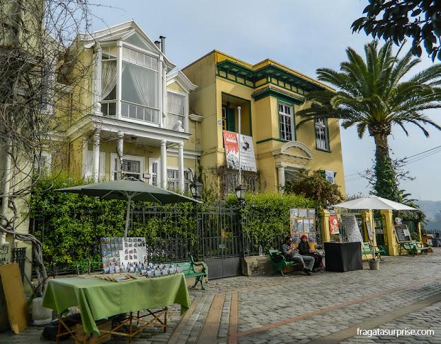 Paseo Gervasoni, Valparaíso, Chile