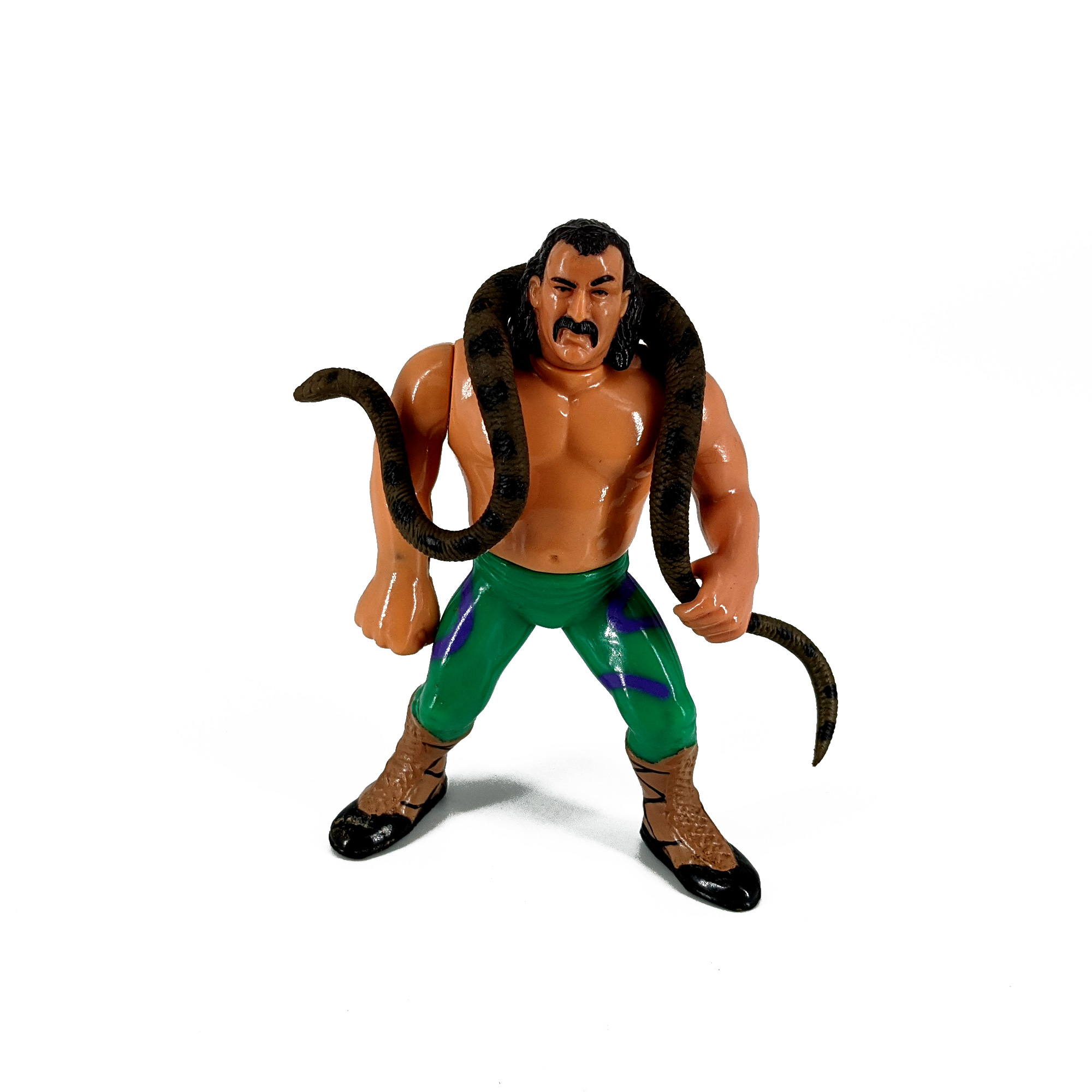 Figuras Pressing Catch WWF Snake