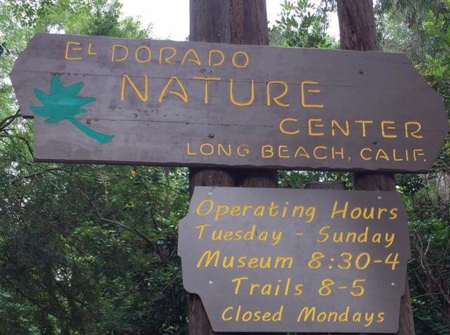 Long Beach El Dorado Nature Center Hours