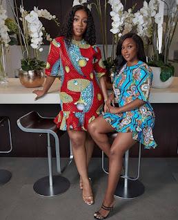 Classy Ankara Short flare Gowns 2020