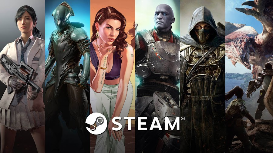 top best selling video games 2019 steam playerunknown's battlegrounds warframe grand theft auto v destiny 2 elder scrolls online monster hunter world