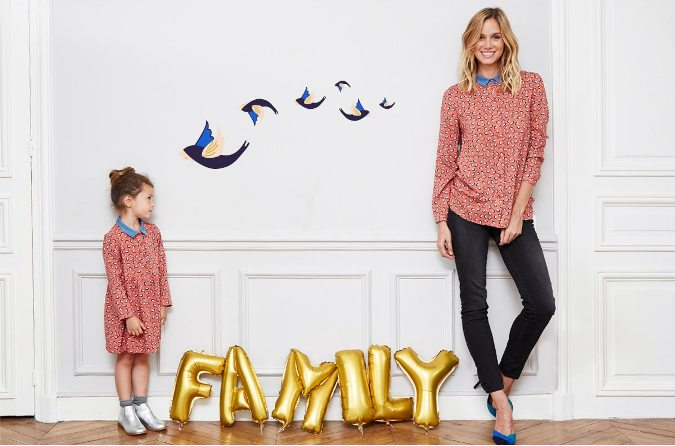 moda premamá para toda la familia