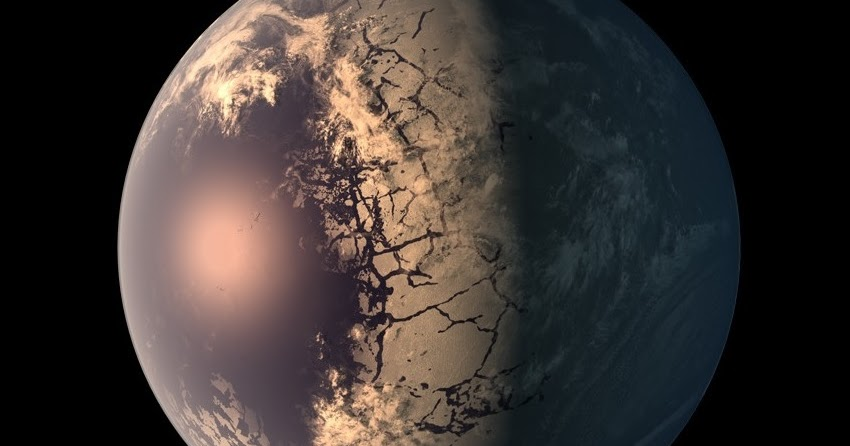 Exoplanet TRAPPIST1f Earth Blog