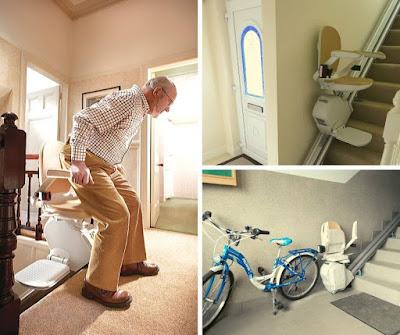 Krzesło schodowe dla przychodni zdrowia