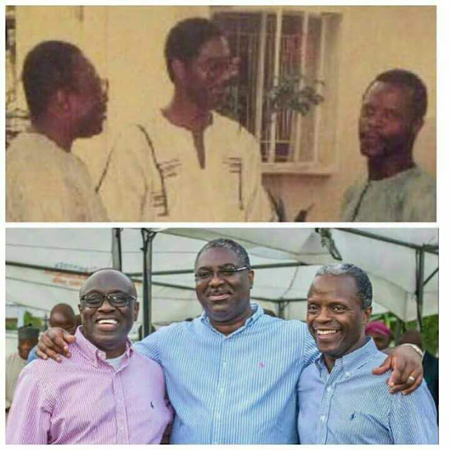 The value of friendship: Ade Asekun, Tunde Fowler & Yemi Oshibajo were friends long time ago