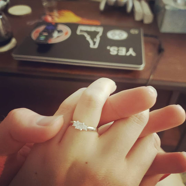 My Wedding Ring on My Hand