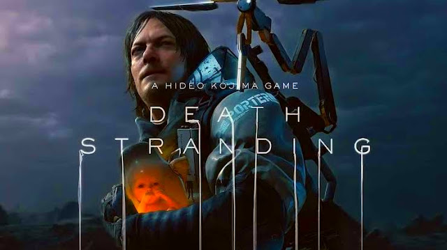 A special version of Death Stranding with a different cover exclusive to Amazon UK
