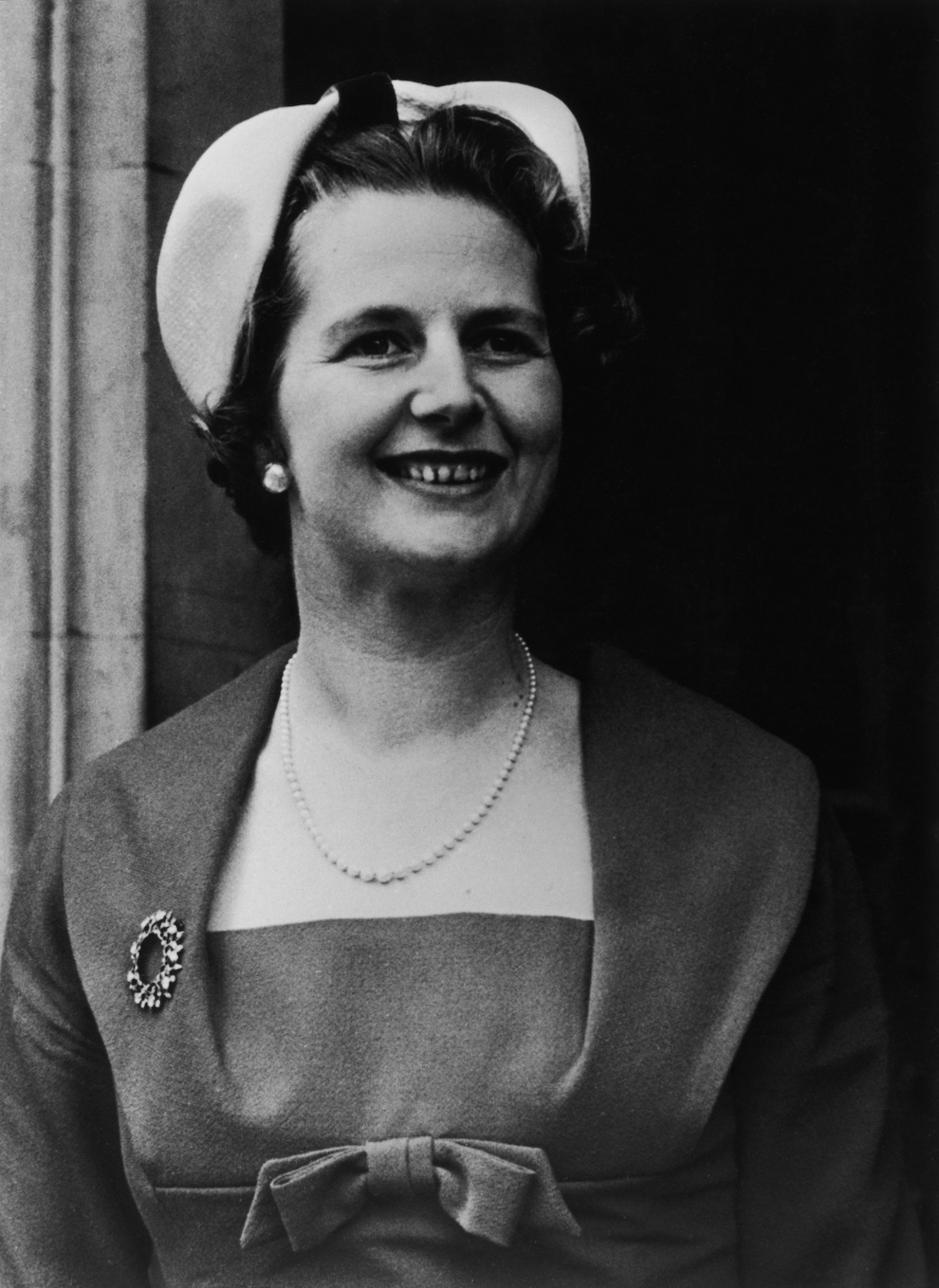 15 vintage photos of margaret thatcher as a young woman in