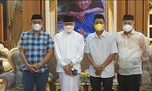 Jelang Musda Golkar Sidrap, Plt Ketua Temui Taufan Pawe
