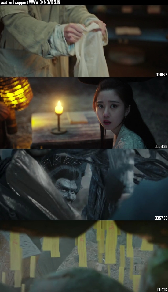 The Enchanting Phantom 2020 Dual Audio Hindi 480p WEB-DL 300mb