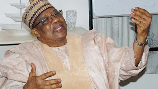 News: IBB reacts to death of Shagaya, Buratai, Baba-Ahmed