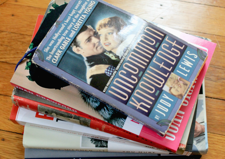 A Vintage Nerd, Old Hollywood Blog, Uncommon Knowledge, Judy Lewis Book, Classic Film Blog