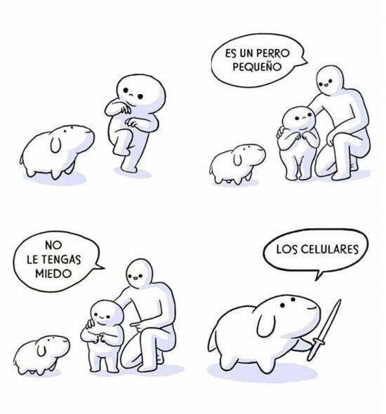 Humor Cuidado con el perro
