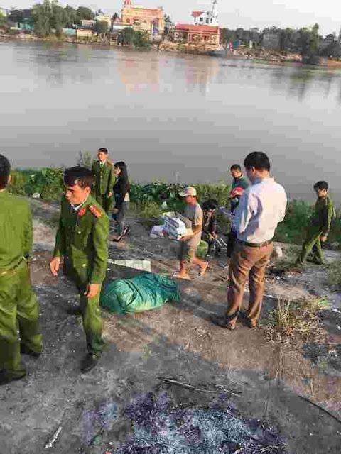 Một bé sơ sinh được phát hiện bị bọc vào túi nilon dưới chân cầu tại Nam Định