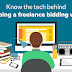Know the tech behind developing a freelance bidding website