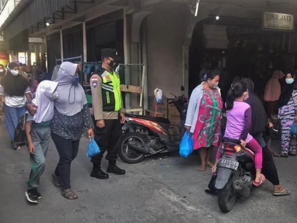 Operasi Yustisi Monitoring Prokes Terus Dilaksanakan di Belakang Padang