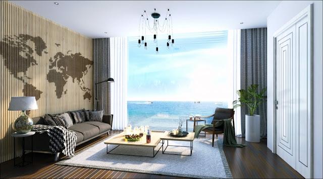 Bán căn hộ Ray River Residence 1 phòng ngủ Hồ Tràm Vũng Tàu