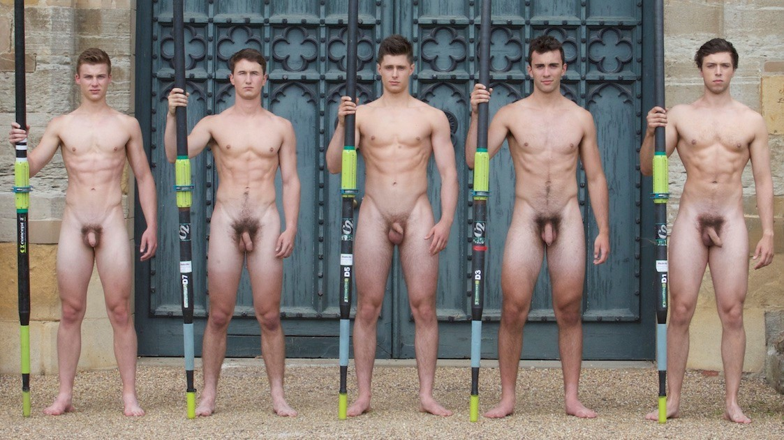 Nude Male College Athletes