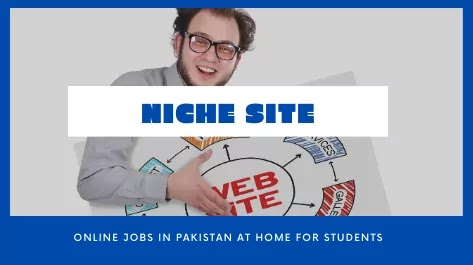 Start a Niche Site Online jobs for students to earn money at home