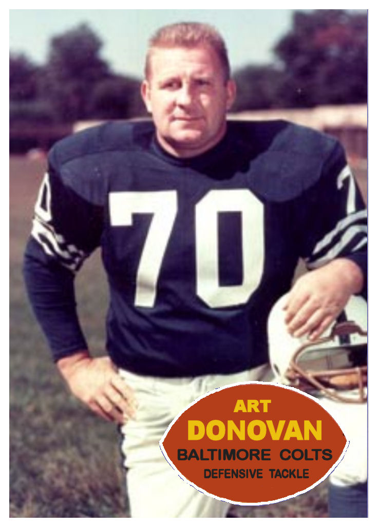 caf05a06830 Cards That Never Were  1960 Topps Art Donovan