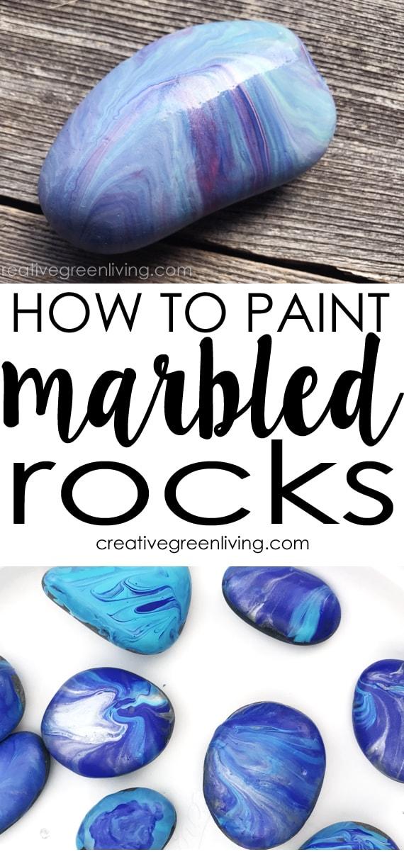 Painted rocks #creativegreenliving