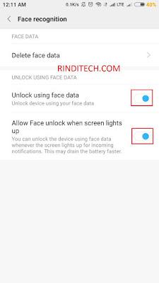 Berikut ini yaitu cara untuk menggunakan atau menggunakan fitur face recognition di smartpho Cara Menggunakan Face ID Recognition di HP Xiaomi (Face Unlock)
