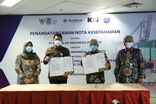 Optimalkan Aset Lama, PT Pelindo III Kolaborasi dengan PT KAI