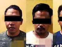 3 Orang Pedagang Pasar Malam Minasatene Ditangkap Polisi, Diduga Menjual Sabu