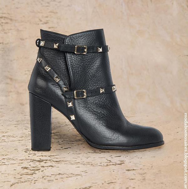 Moda invierno 2016. Colección Rapsodia otoño invierno 2016 calzado femenino, botas, botinetas, zapatos, zapatillas y suecos. Moda 2016.