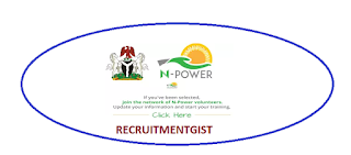 Current Npower.gov.ng 2018/2019 Npower Health Nigeria Recruitment Form Fill Form Login