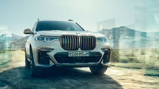 bmw x7 Front side