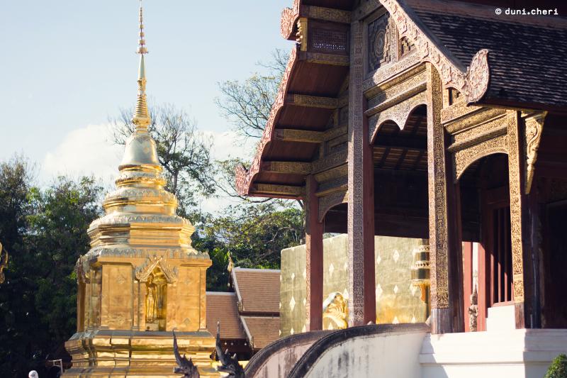 thailand tempel gold