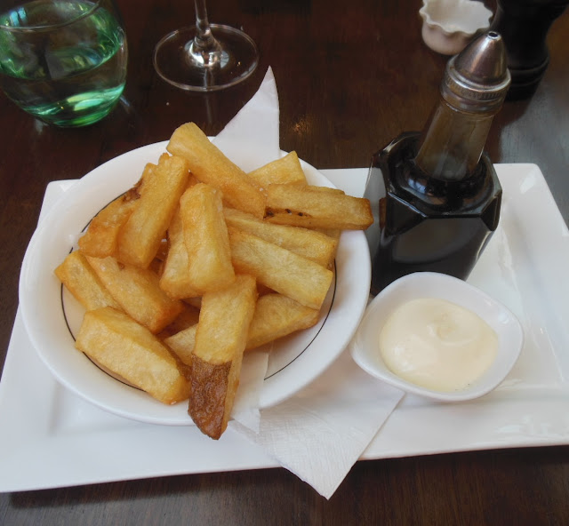 Gallery Restaurant, Ballarat, chips